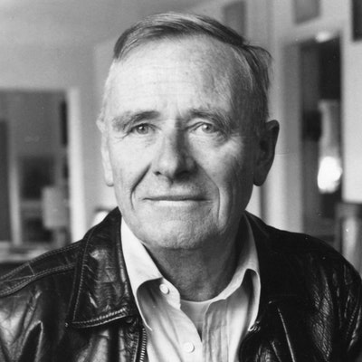 portrait photo of Christopher Isherwood