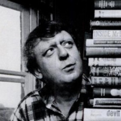 portrait photo of Anthony Burgess