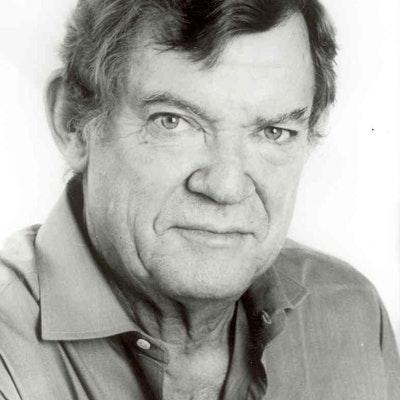 portrait photo of Robert Hughes
