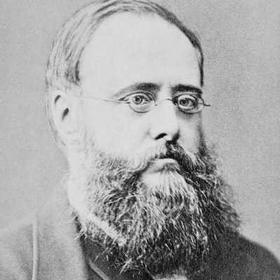 portrait photo of Wilkie Collins