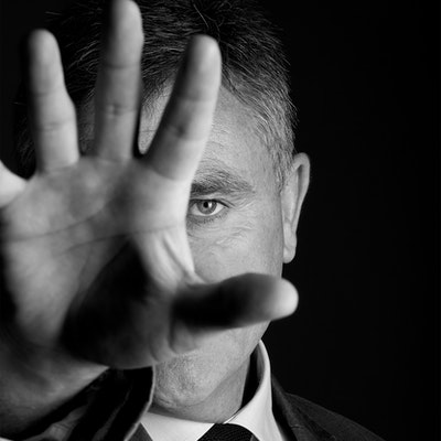 portrait photo of Andy McNab