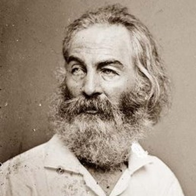 portrait photo of Walt Whitman