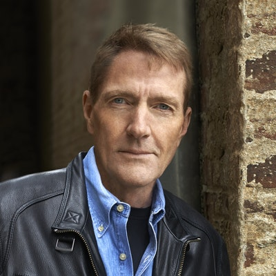 portrait photo of Lee Child