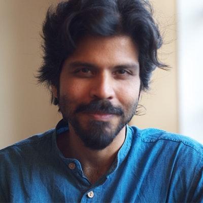 portrait photo of Pankaj Mishra