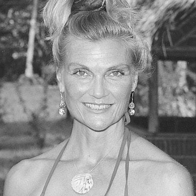 portrait photo of Lucy Irvine