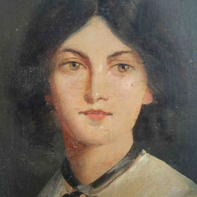 portrait photo of Emily Bronte