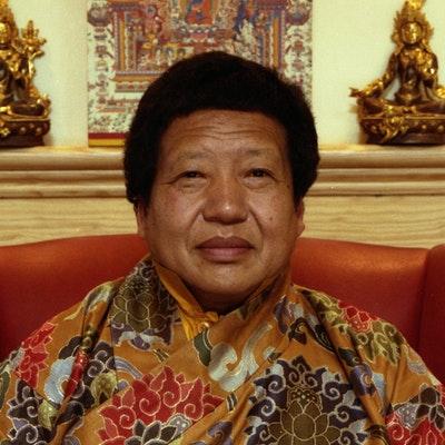 portrait photo of Akong Tulku Rinpoche
