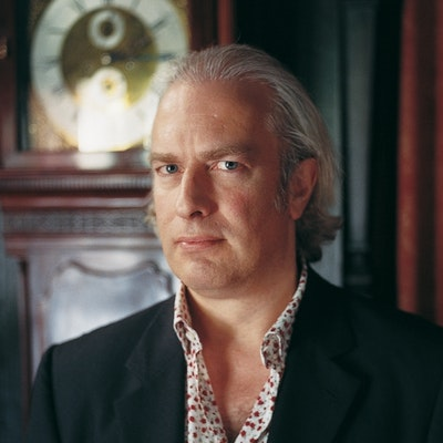 portrait photo of Martin Rowson