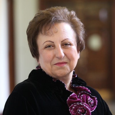 portrait photo of Shirin Ebadi