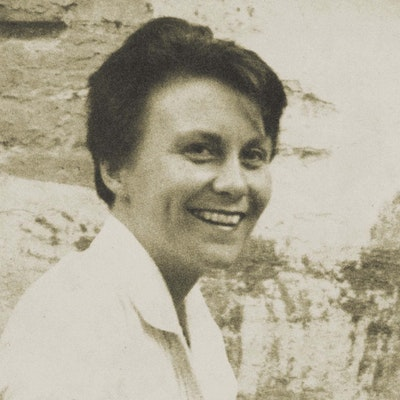 portrait photo of Harper Lee