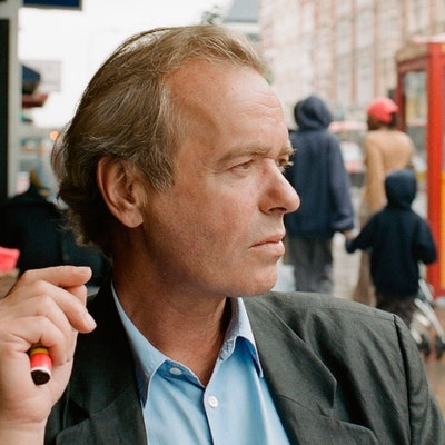 portrait photo of Martin Amis