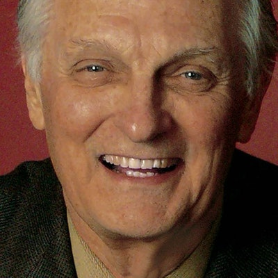 portrait photo of Alan Alda