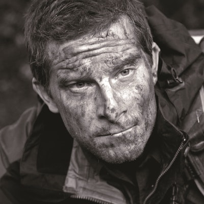 portrait photo of Bear Grylls