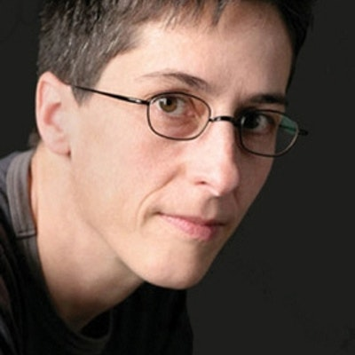 portrait photo of Alison Bechdel