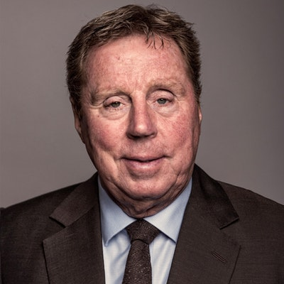 portrait photo of Harry Redknapp
