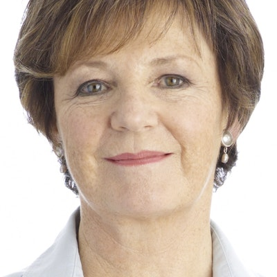 portrait photo of Delia Smith