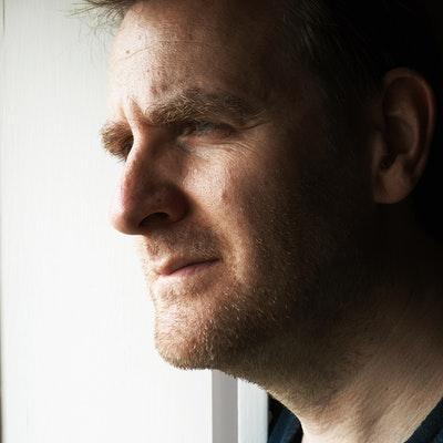 portrait photo of Nick Harkaway