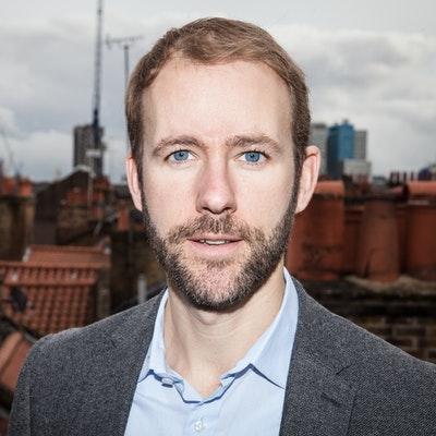 portrait photo of Reif Larsen