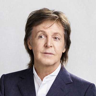 portrait photo of Paul McCartney