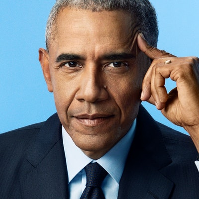 portrait photo of Barack Obama
