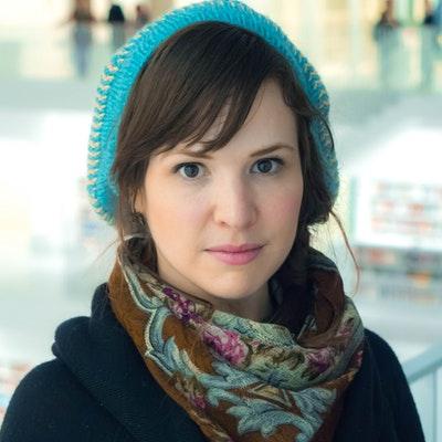 portrait photo of Kate Beaton