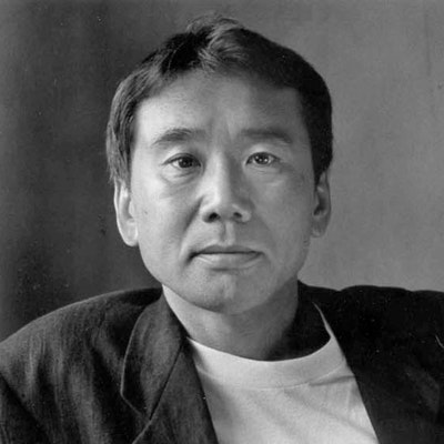portrait photo of Haruki Murakami