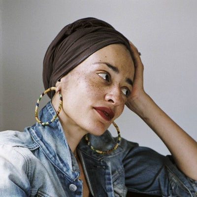 portrait photo of Zadie Smith
