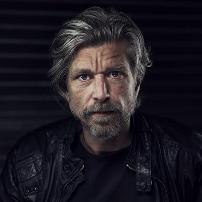 portrait photo of Karl Ove Knausgaard