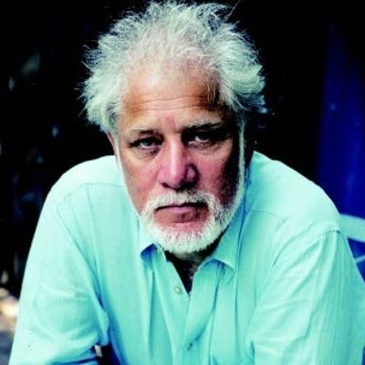 portrait photo of Michael Ondaatje