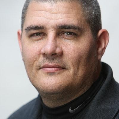 portrait photo of Adam Johnson