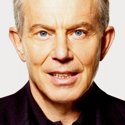 portrait photo of Tony Blair