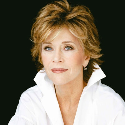 portrait photo of Jane Fonda