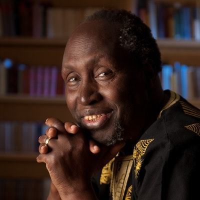 portrait photo of Ngugi wa Thiong'o