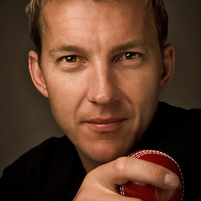 portrait photo of Brett Lee