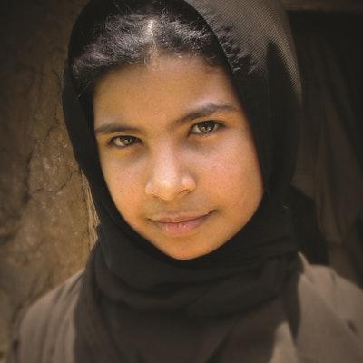 portrait photo of Nujood Ali