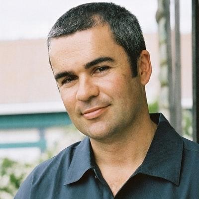 portrait photo of Bernard Beckett