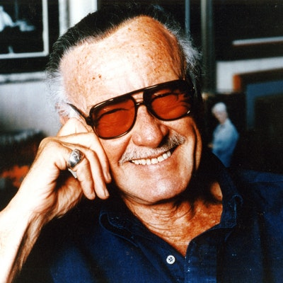portrait photo of Stan Lee