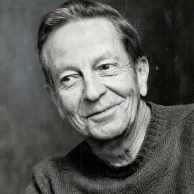 portrait photo of John Cheever