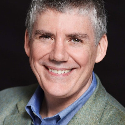 portrait photo of Rick Riordan