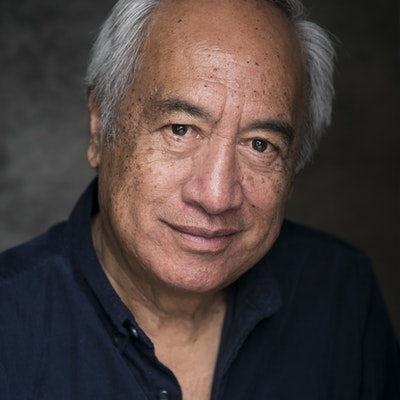 portrait photo of Witi Ihimaera