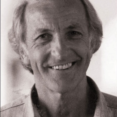 portrait photo of John Pilger