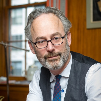 portrait photo of Amor Towles