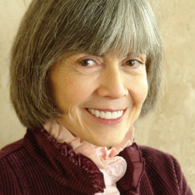 portrait photo of Anne Rice