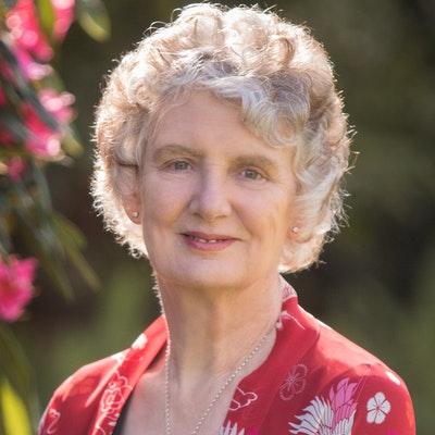 portrait photo of Lynley Dodd