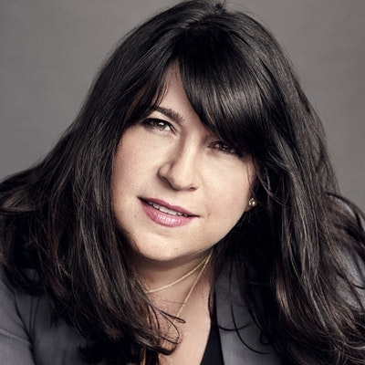 portrait photo of E L James