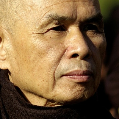 portrait photo of Thich Nhat Hanh