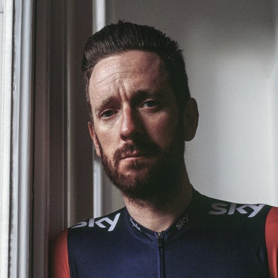 portrait photo of Bradley Wiggins