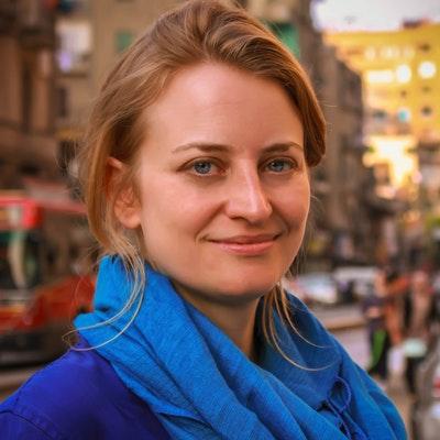 portrait photo of Rachel Aspden