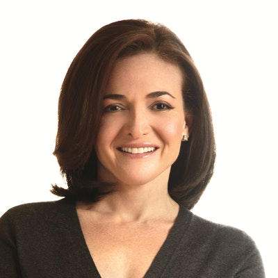 portrait photo of Sheryl Sandberg