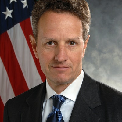 portrait photo of Timothy Geithner